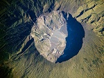 Tambora volcano, Indonesia, Volcano photo
