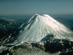 Tongariro volcano, New Zealand, Volcano photo