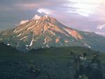 Zheltovsky volcano, Russia, Volcano photo